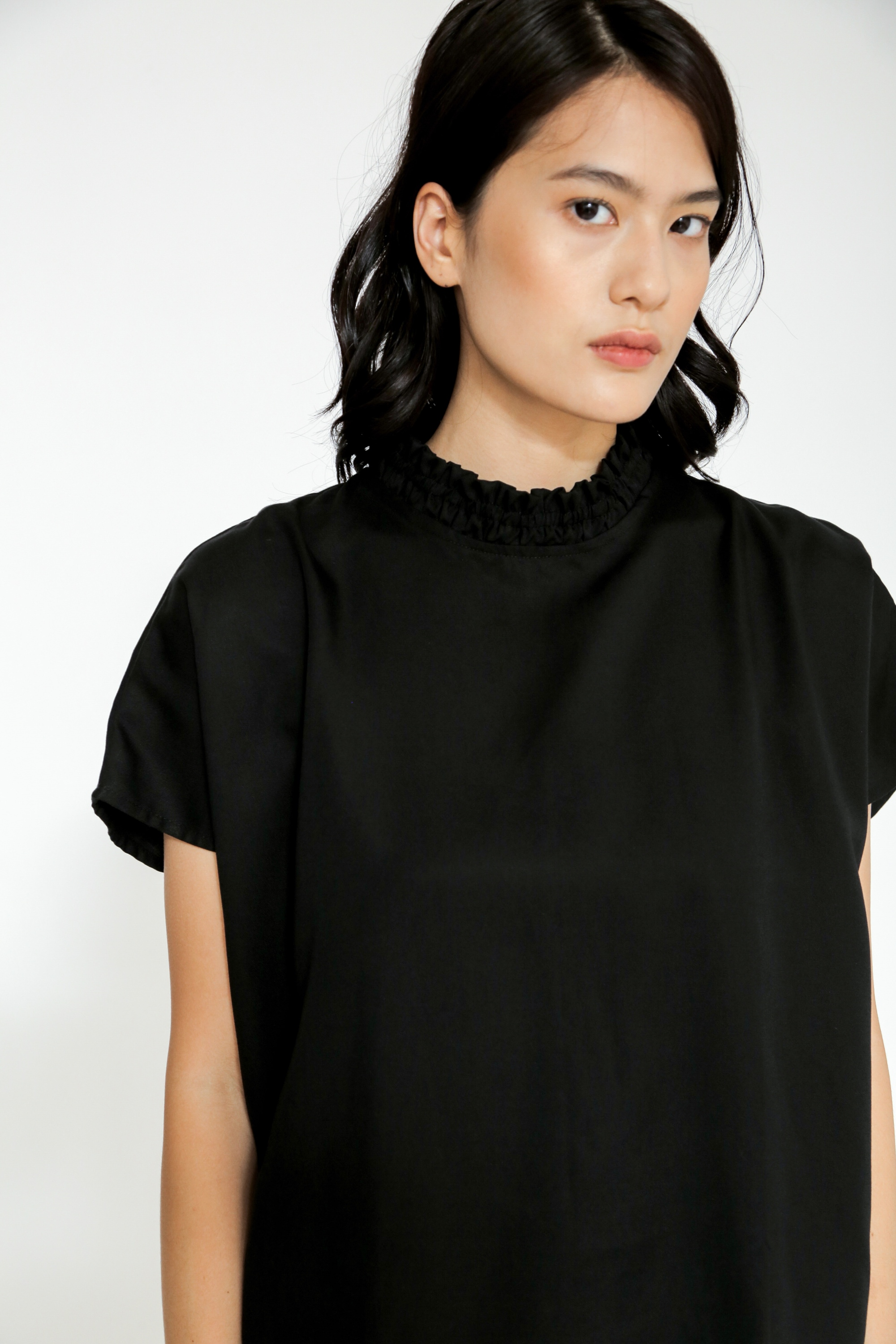 Picture of DAFFODIL BLOUSE BLACK