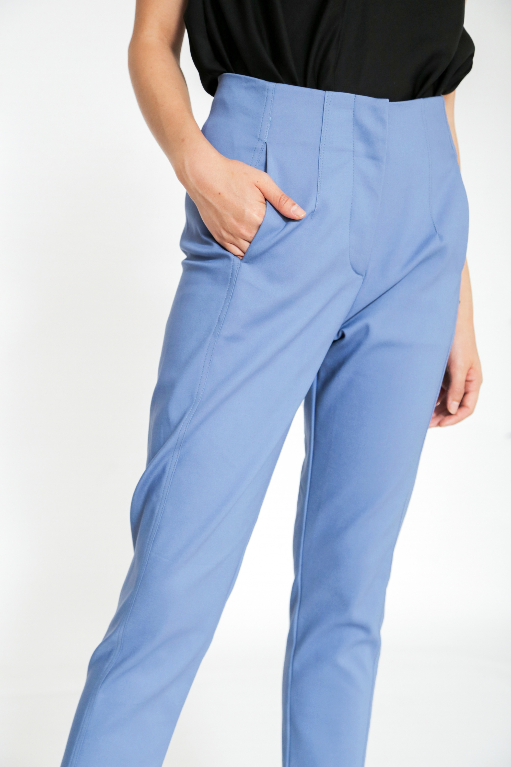 Picture of ERVIN PANTS  MOUNTAIN BLUE