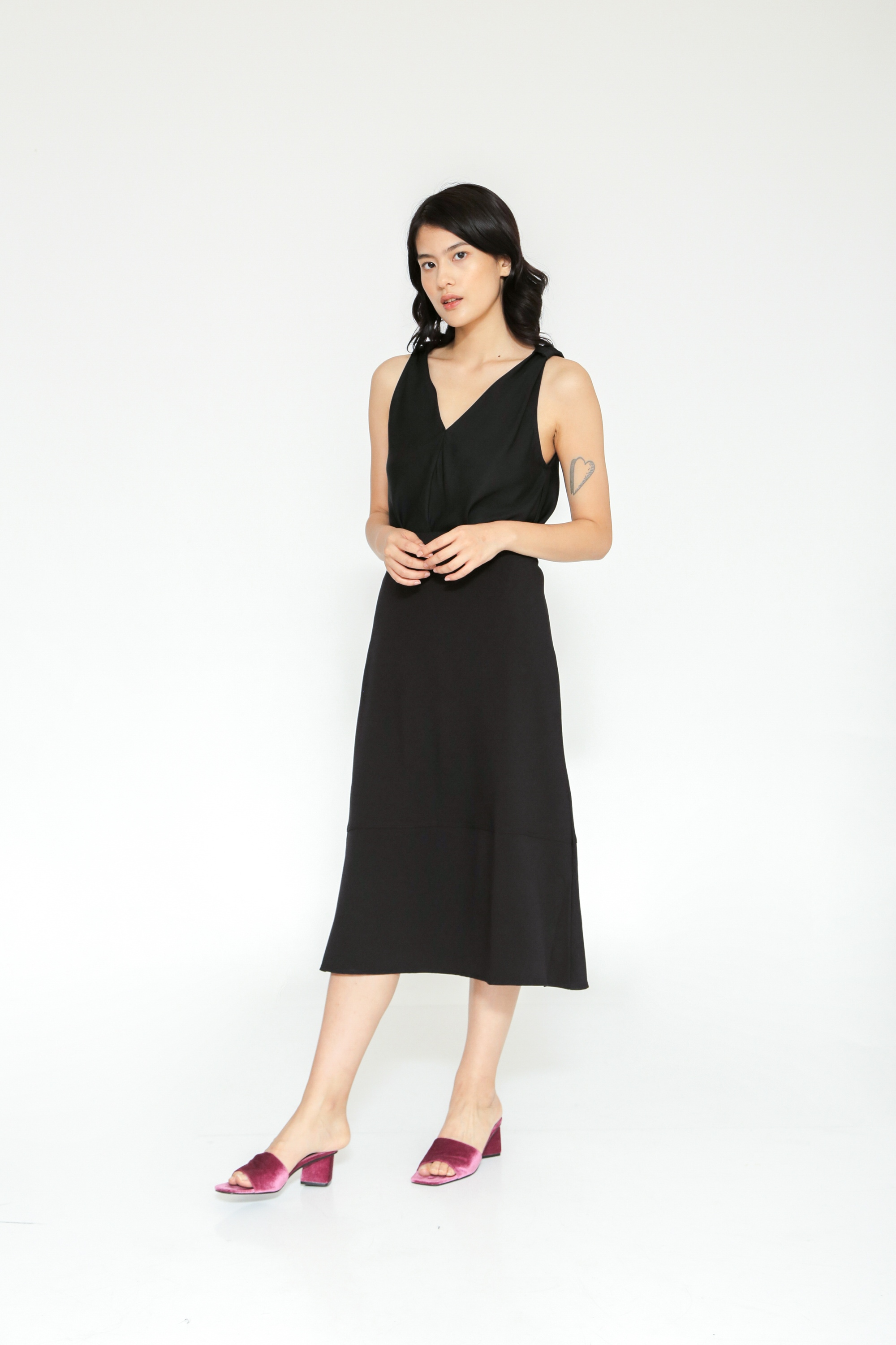 Picture of GLADIOLUS SKIRT BLACK