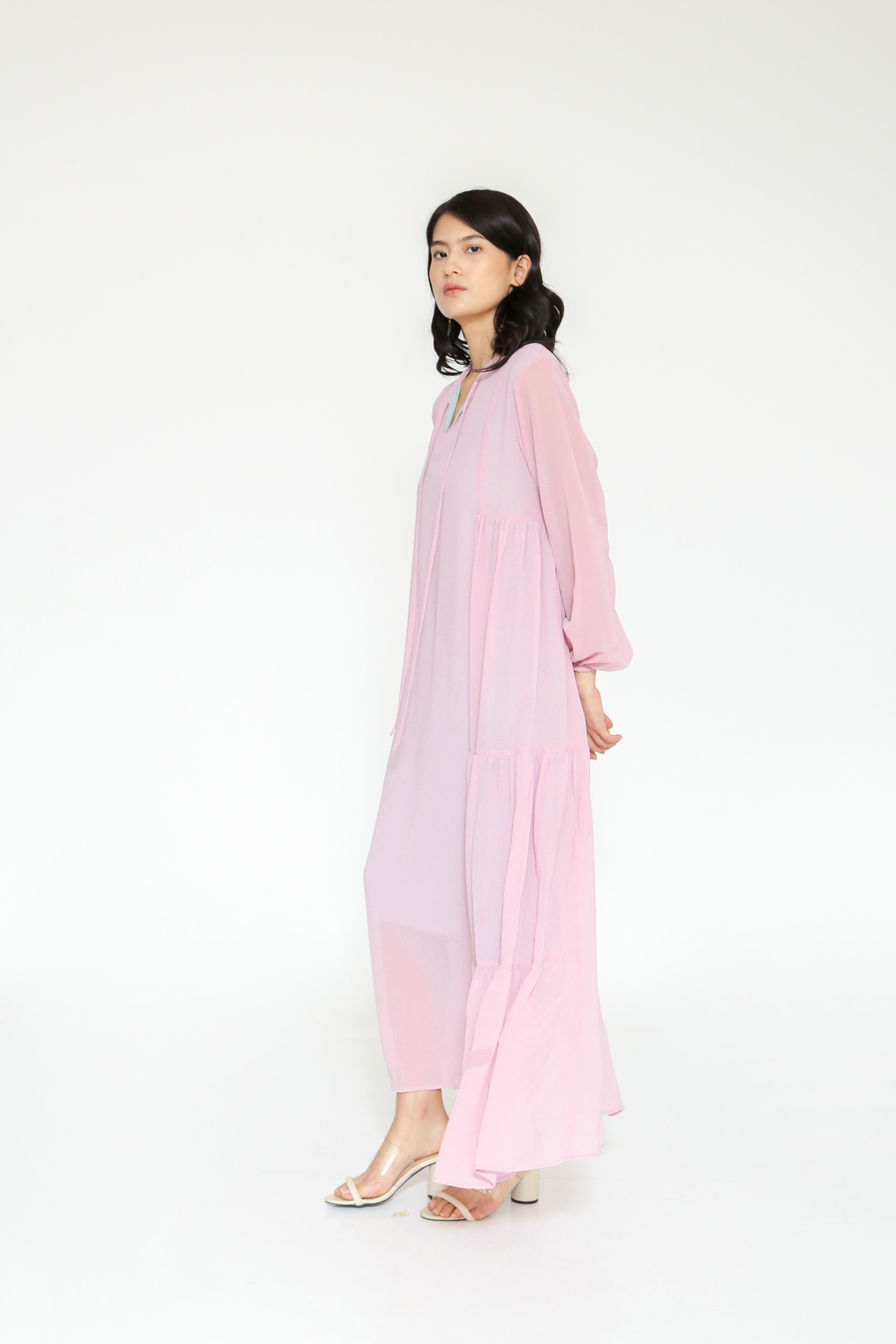 Picture of BEATRIX MAXI DRESS PINKLILAC