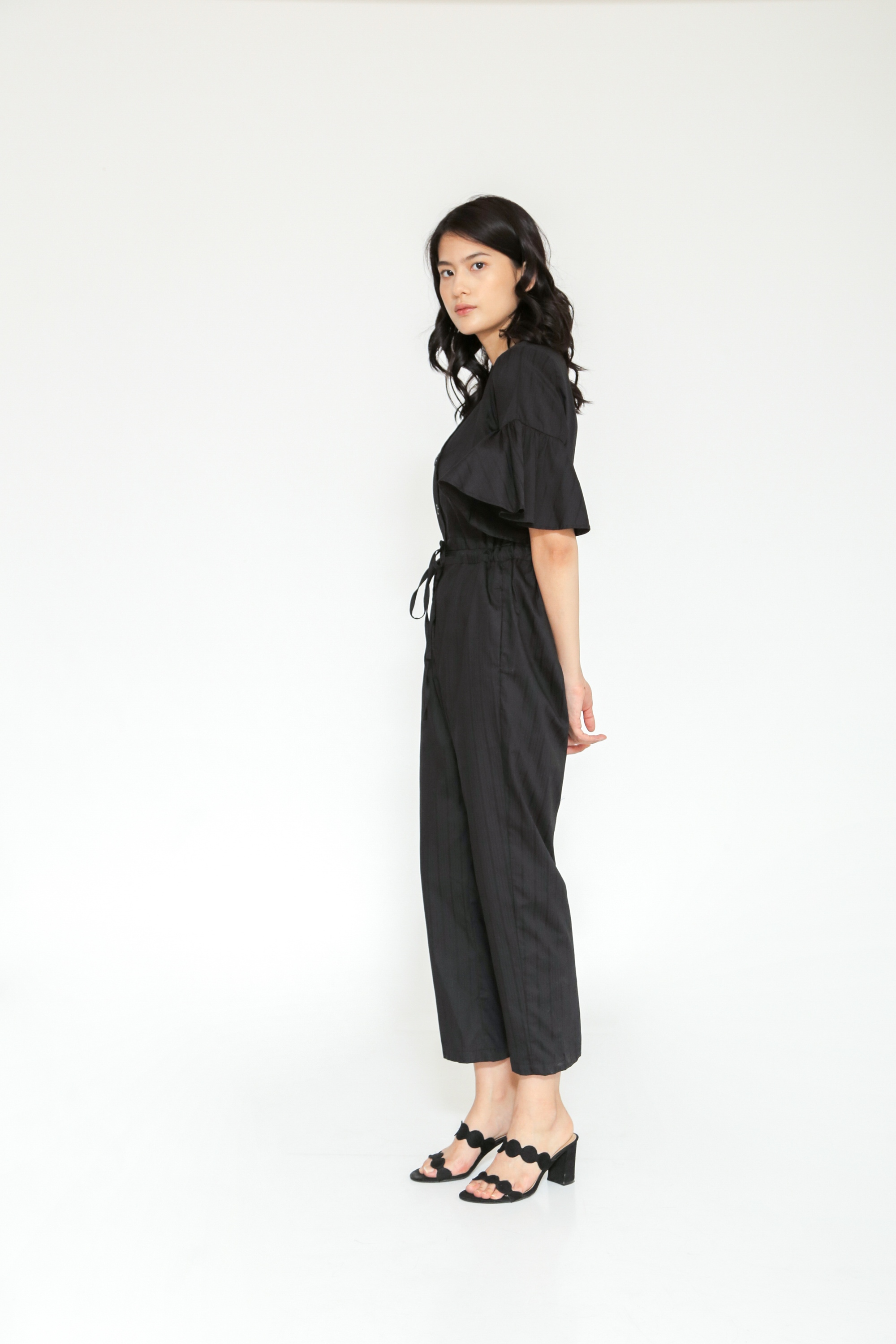 Picture of MOORSE JUMPSUIT BLACKPATTERN