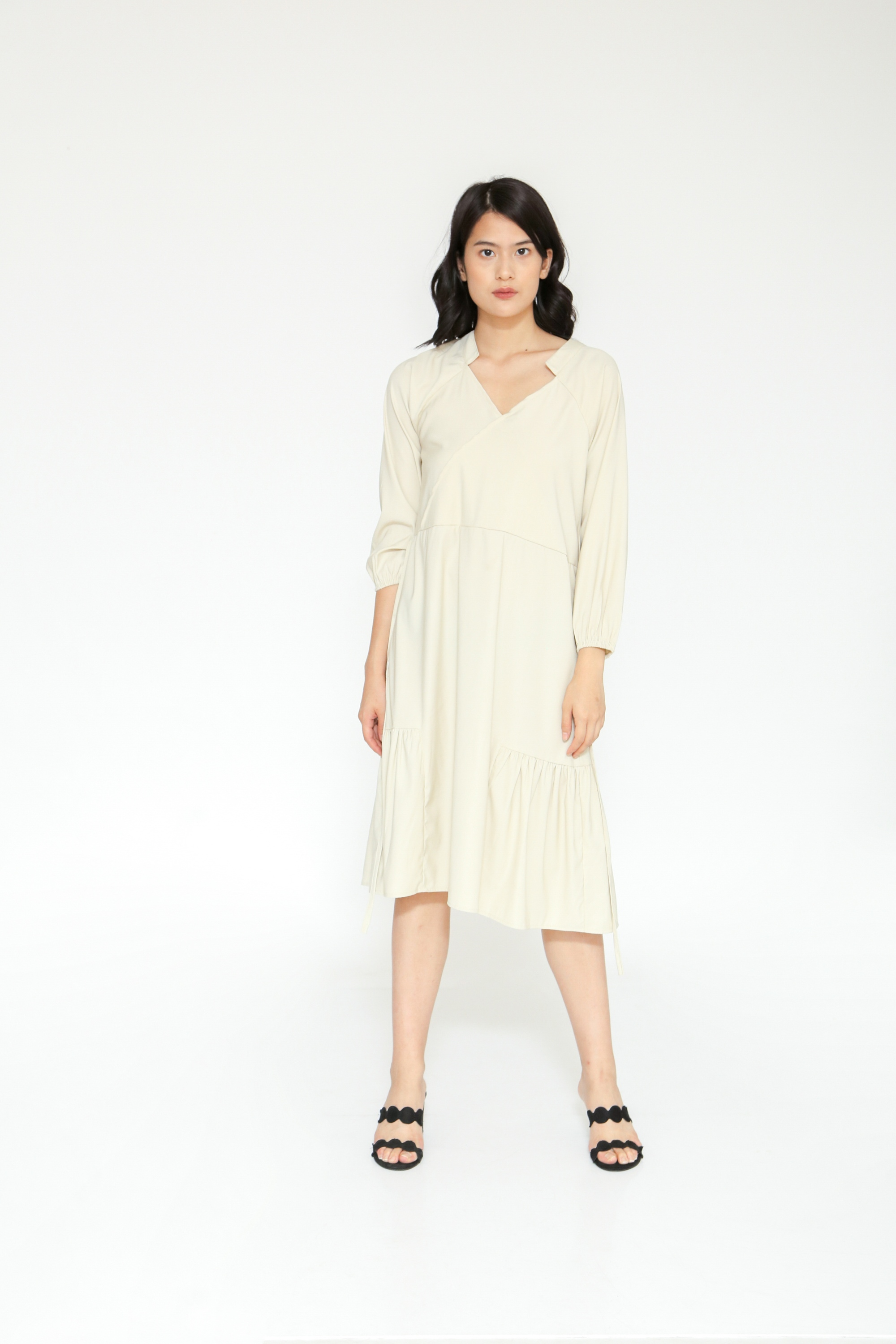 Picture of PADAME DRESS SOFTKHAKI