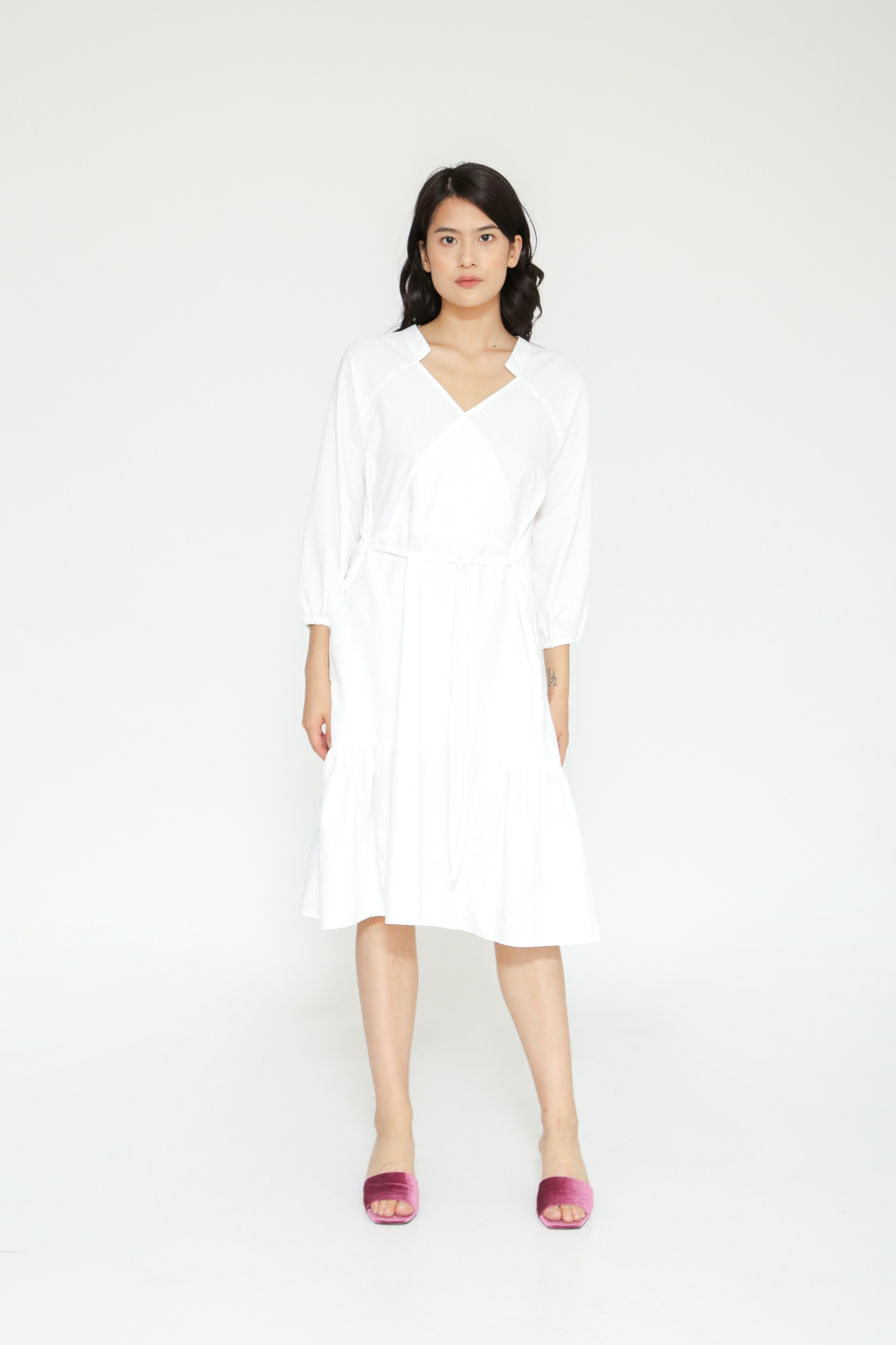 Picture of PADAME DRESS IVORY