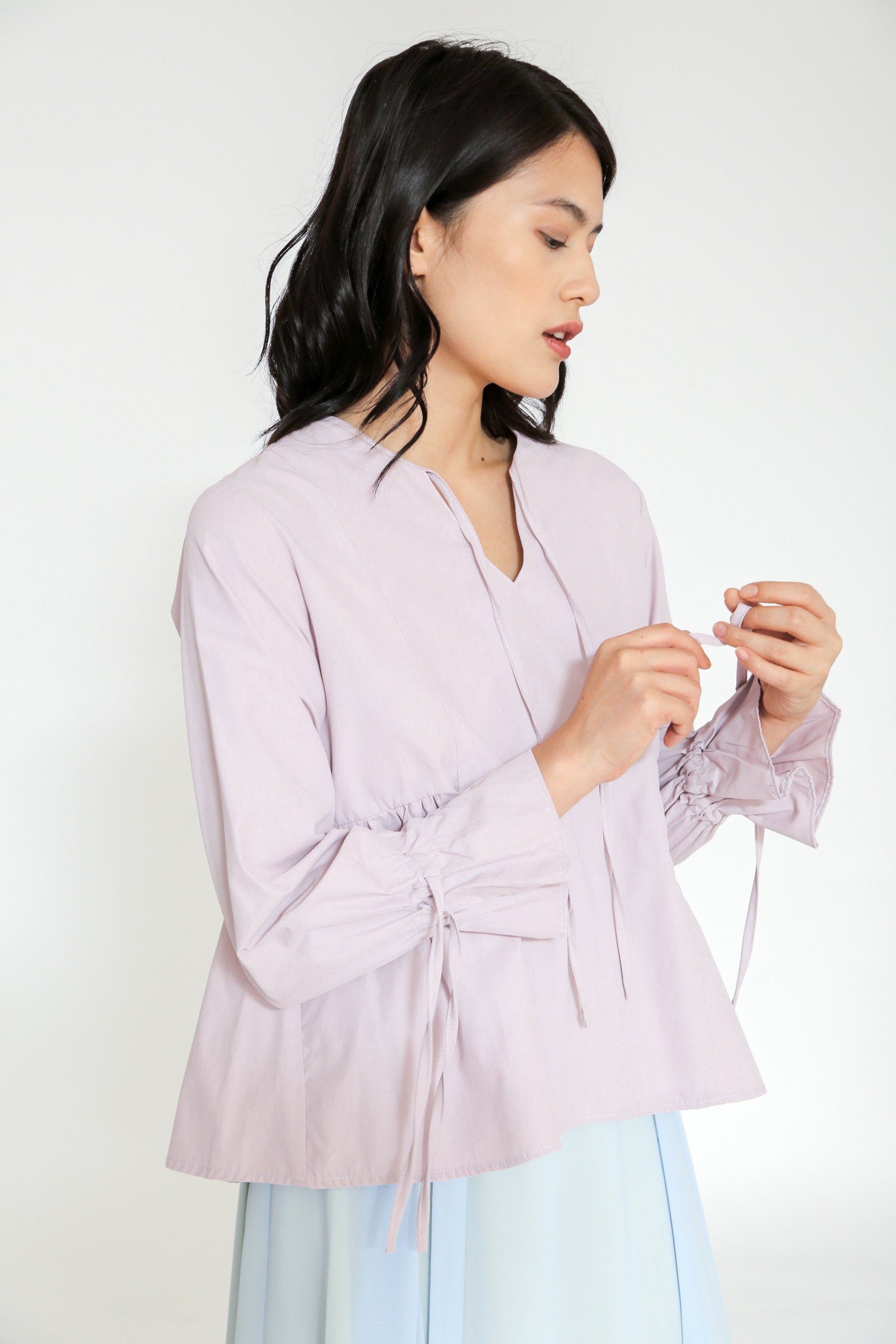 Picture of KRESHA BLOUSE MAUVELILAC