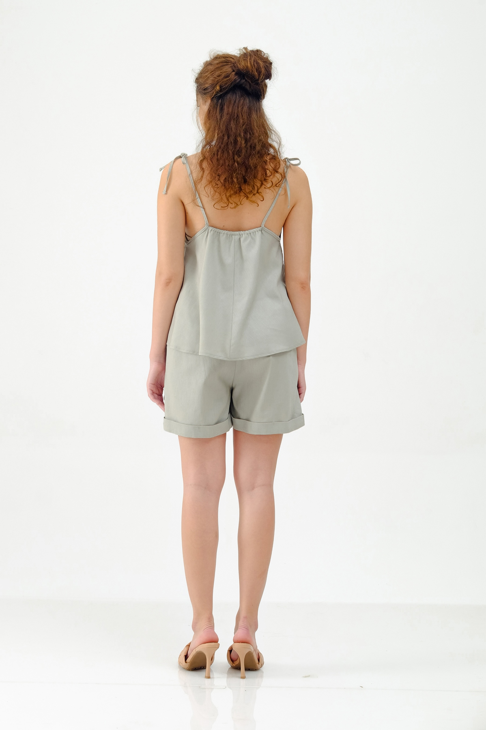 Picture of WELLINA TOP GREENY GREY