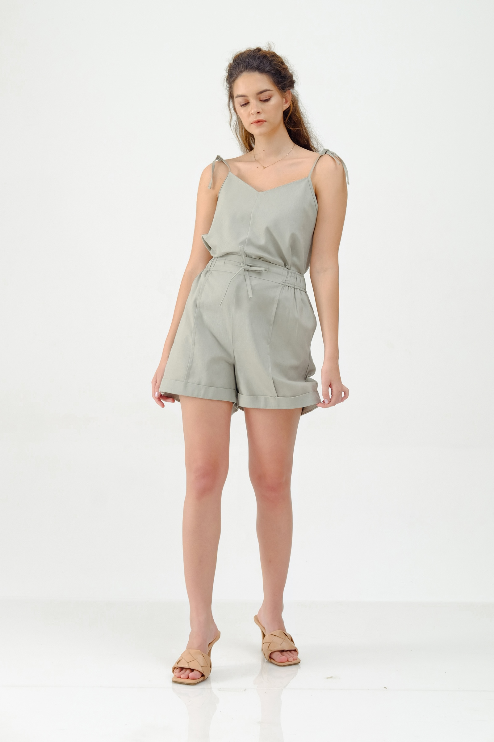Picture of ARISTA SHORTPANTS GREENY GREY