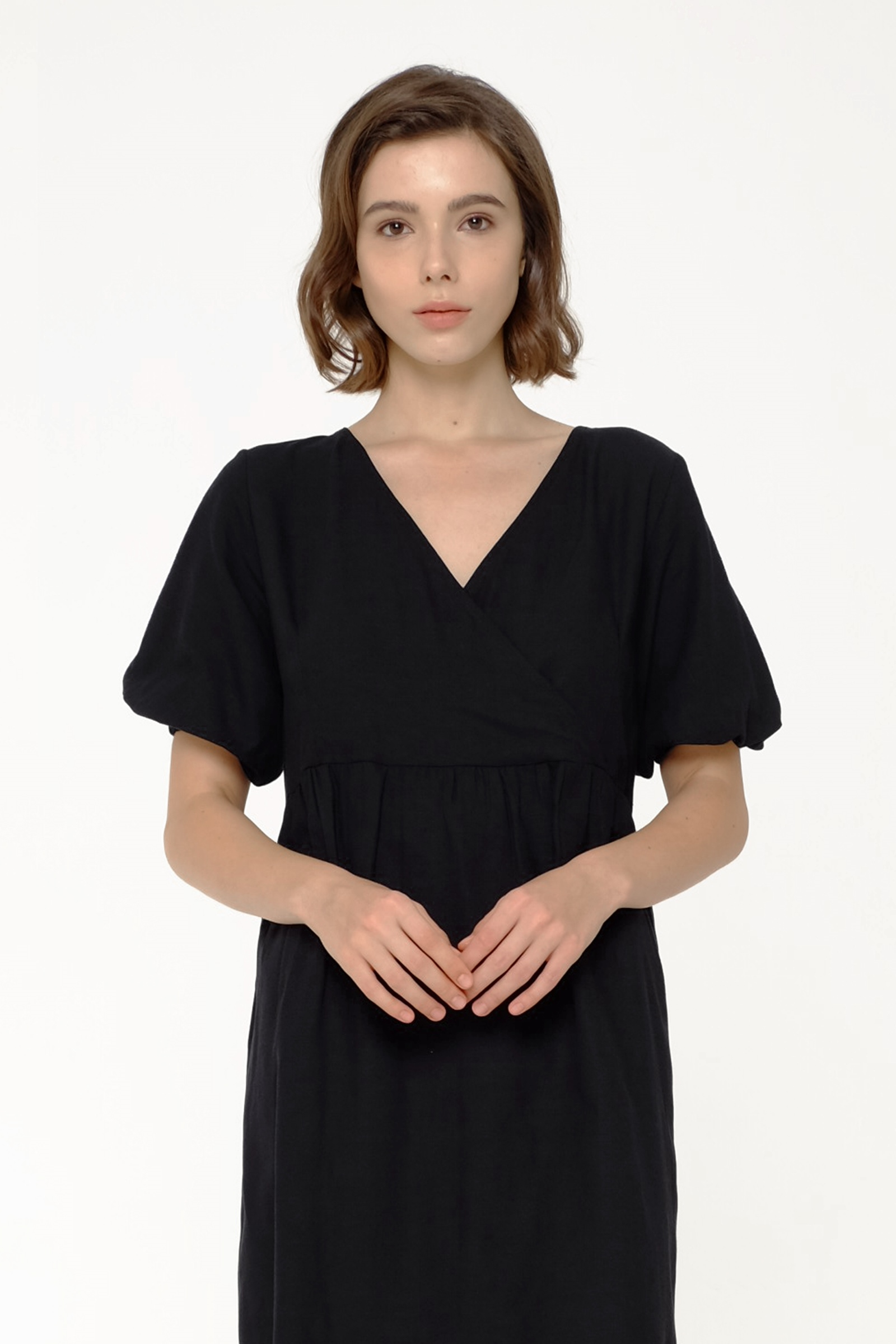Picture of HEBREW DRESS BLACK
