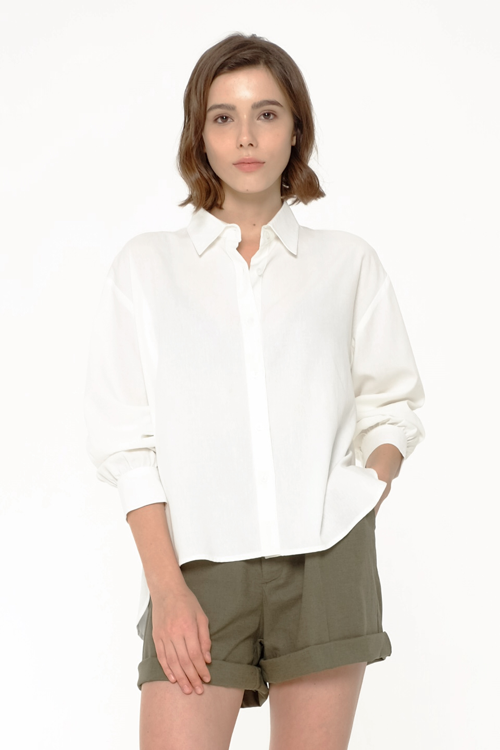 Picture of CALCULLA SHIRT IVORY