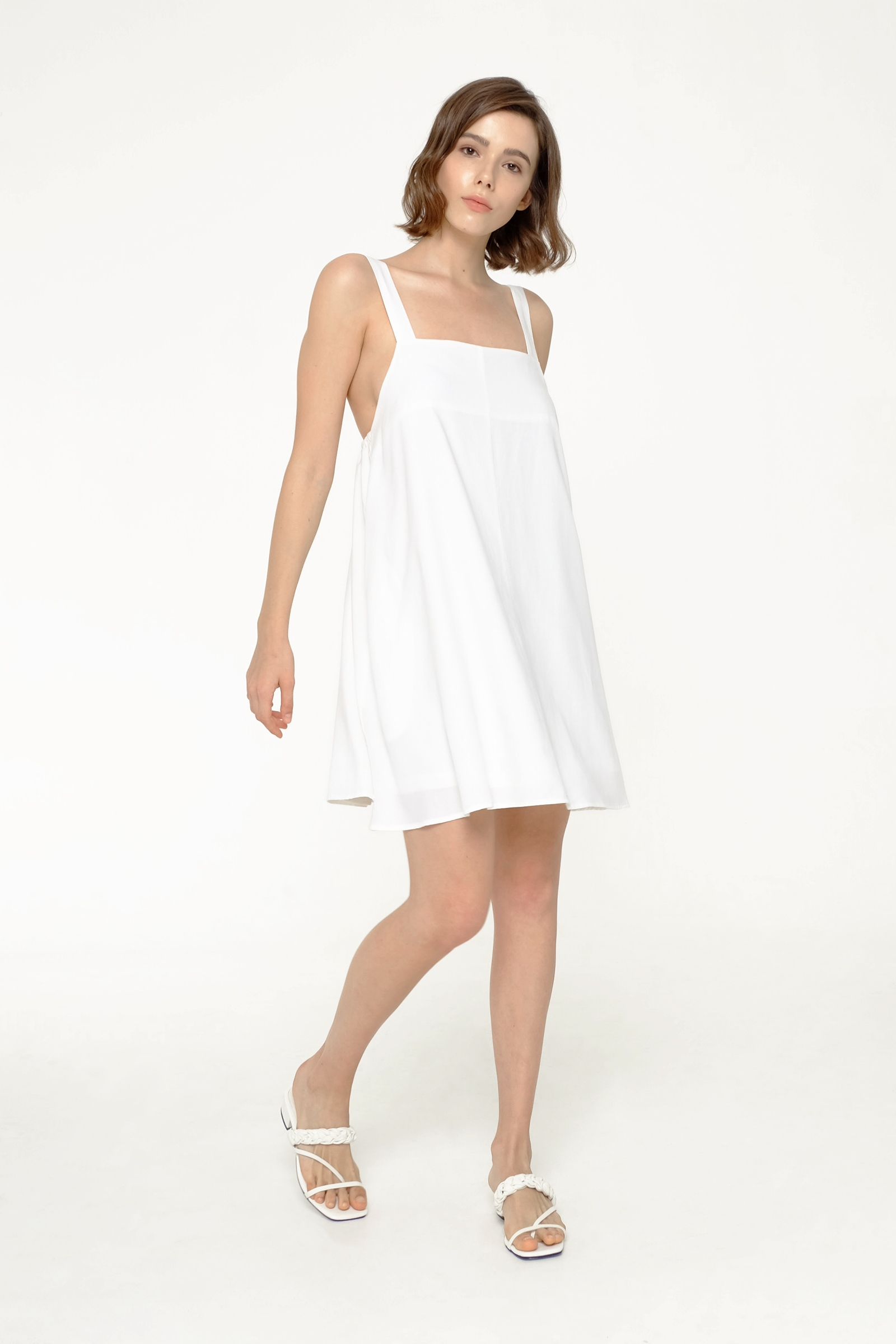 Picture of MOLLIE DRESS IVORY