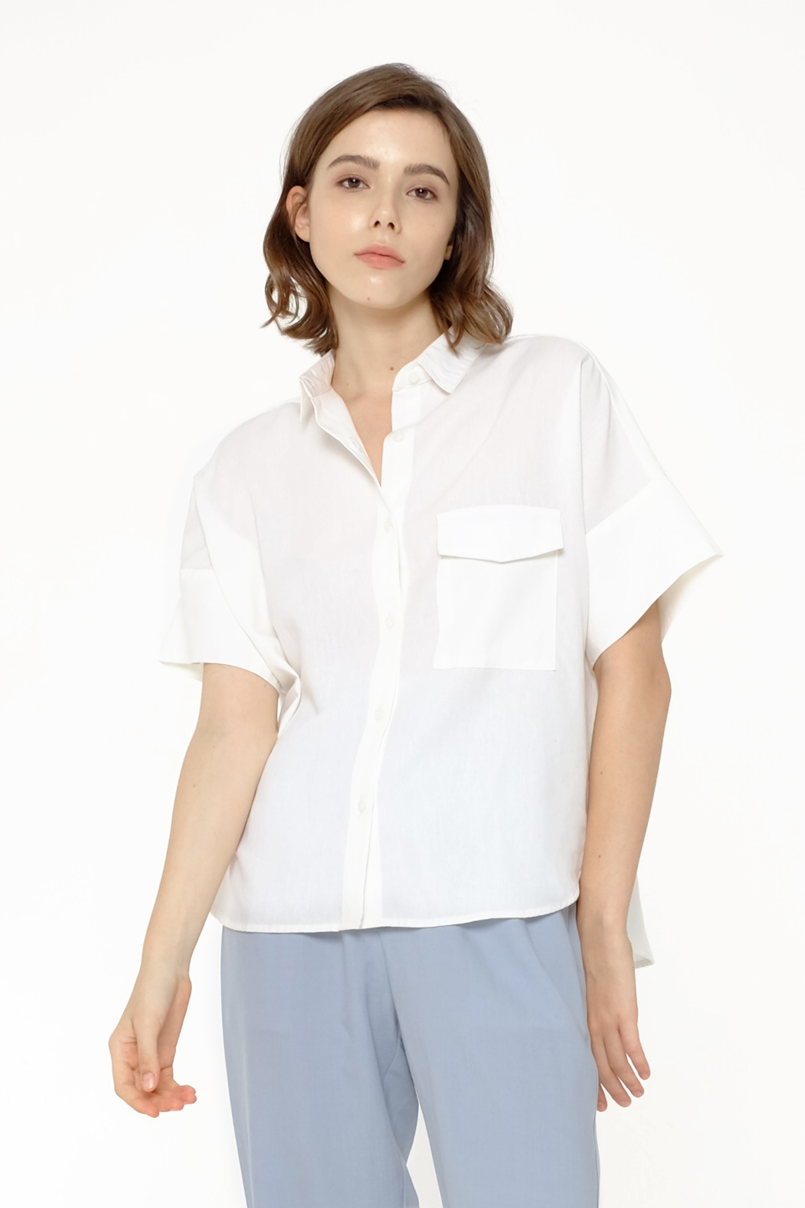 Picture of GEORGIS SHIRT IVORY