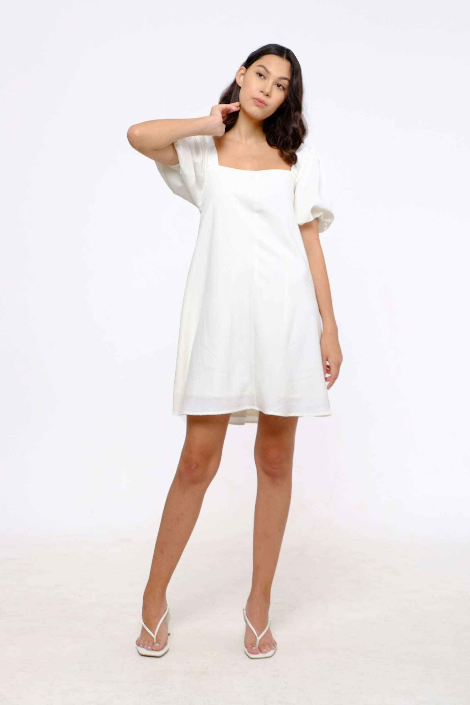 Picture of Claryn Dress Ivory