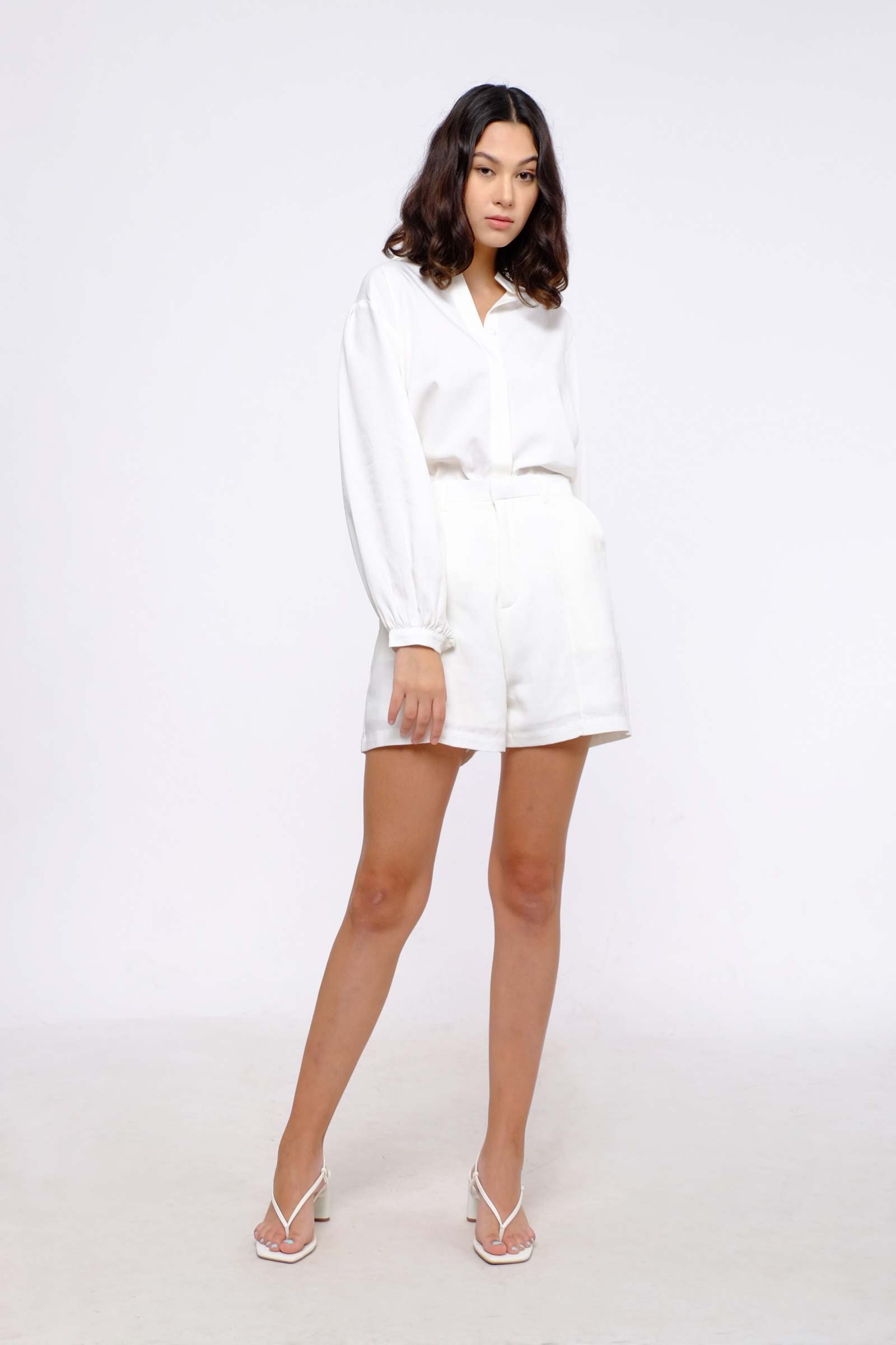 Picture of Harte Short Pants Ivory