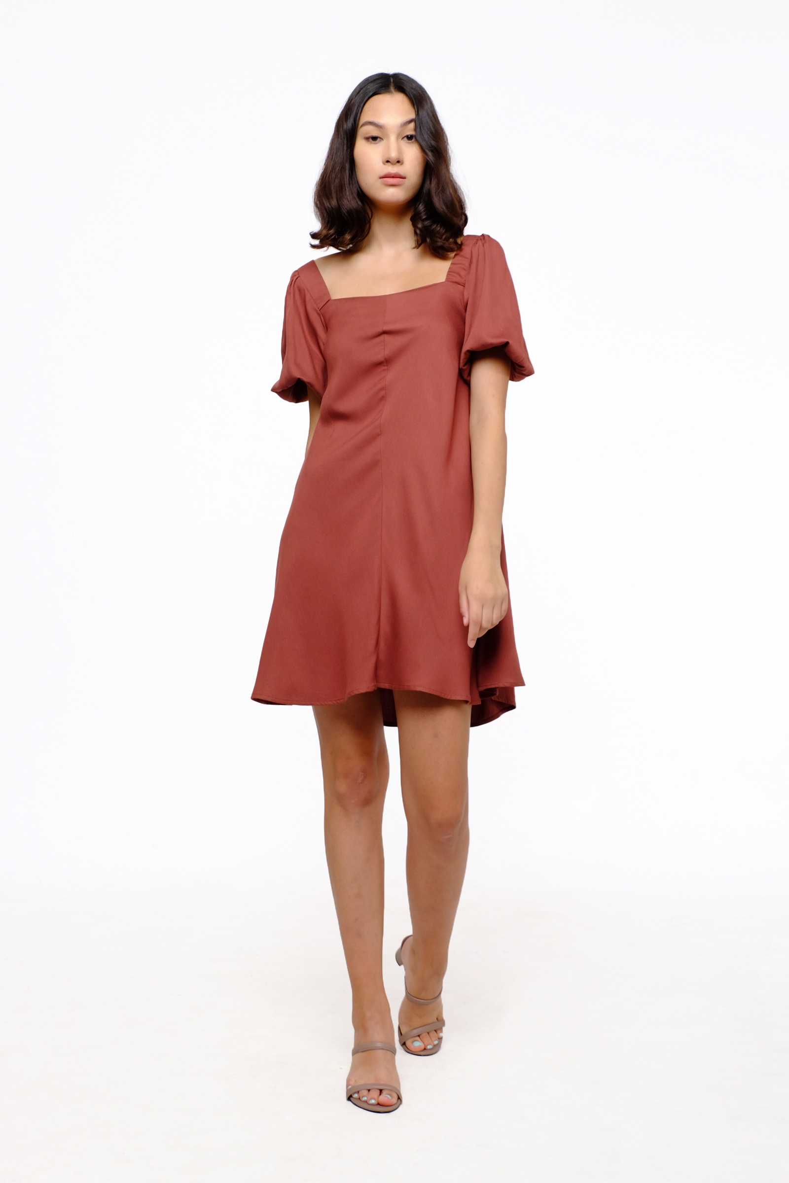 Picture of Clarita Dress Brandy Brown