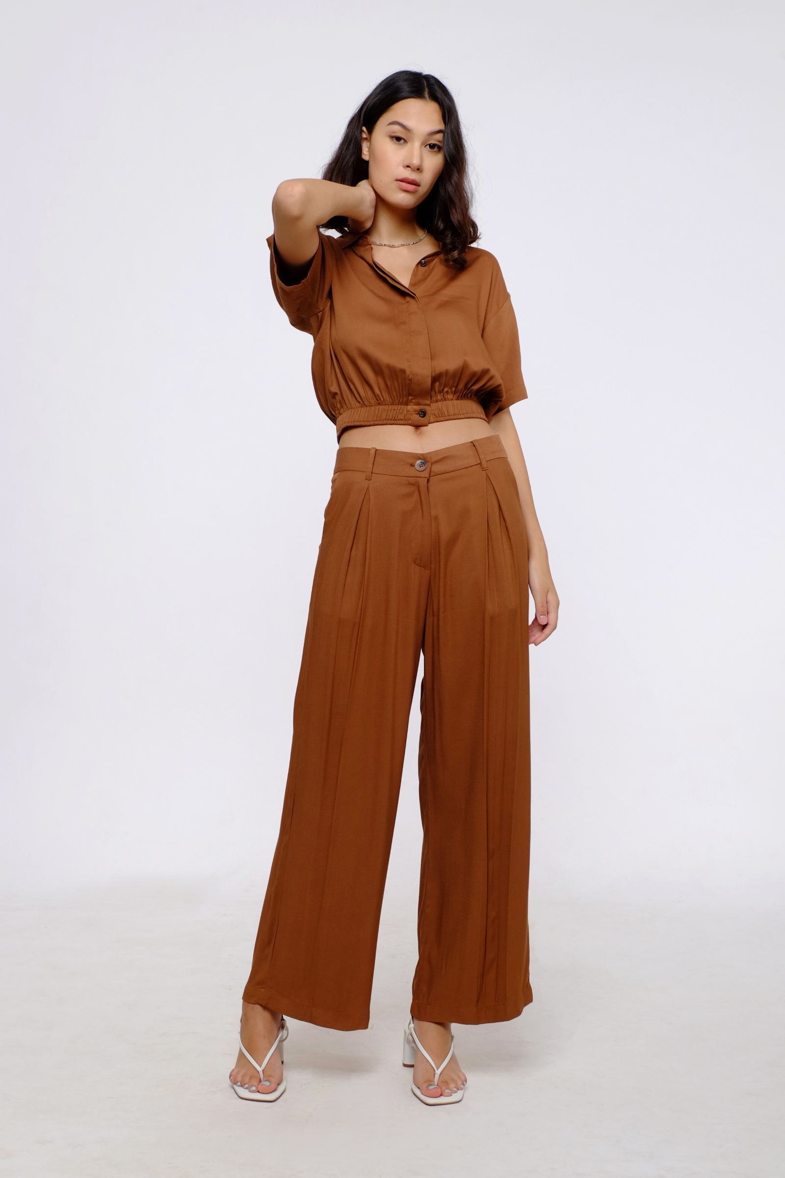 Picture of Harry Pants Toffee Brown