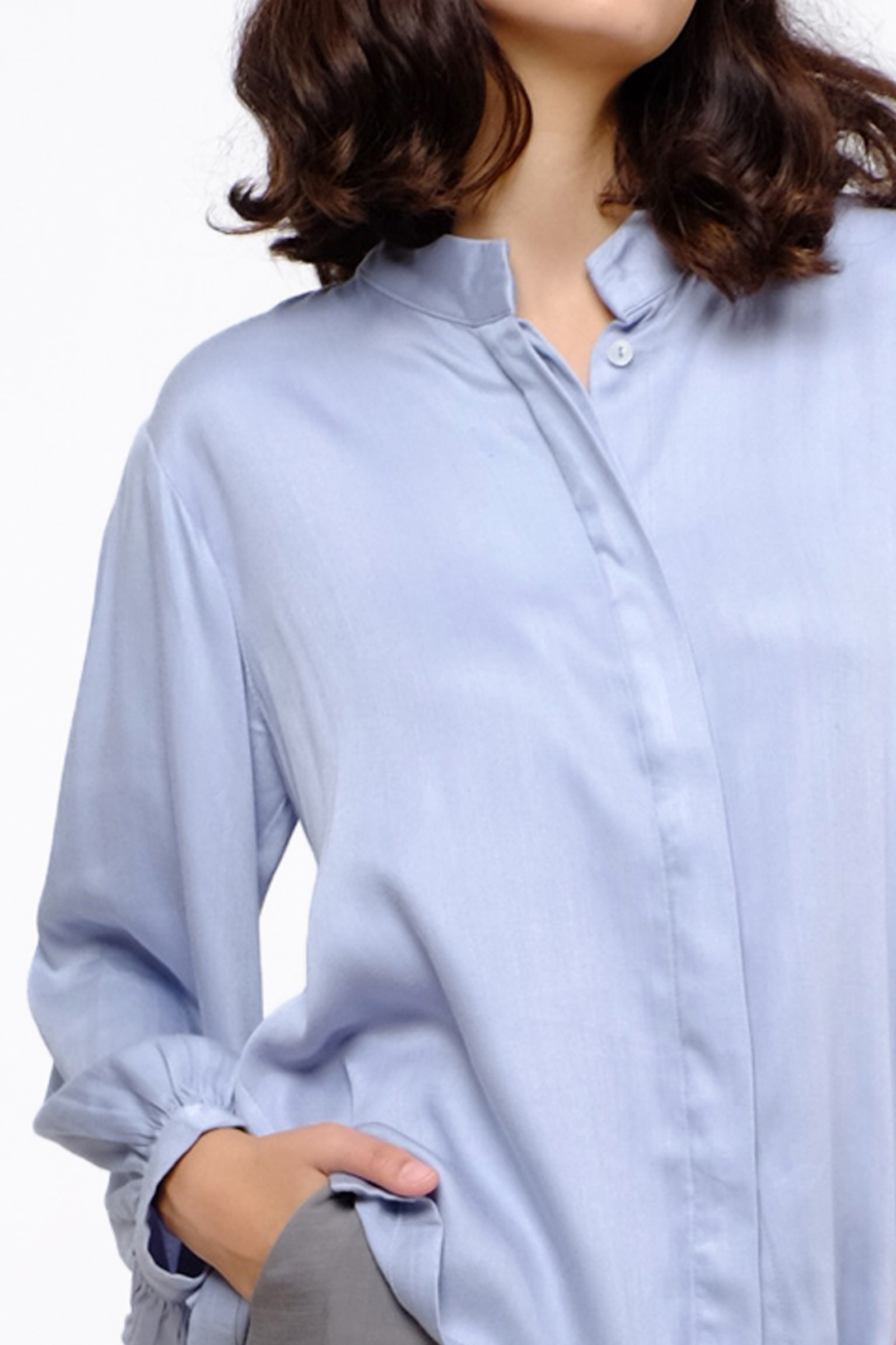 Picture of Niece Shirt Silver Blue