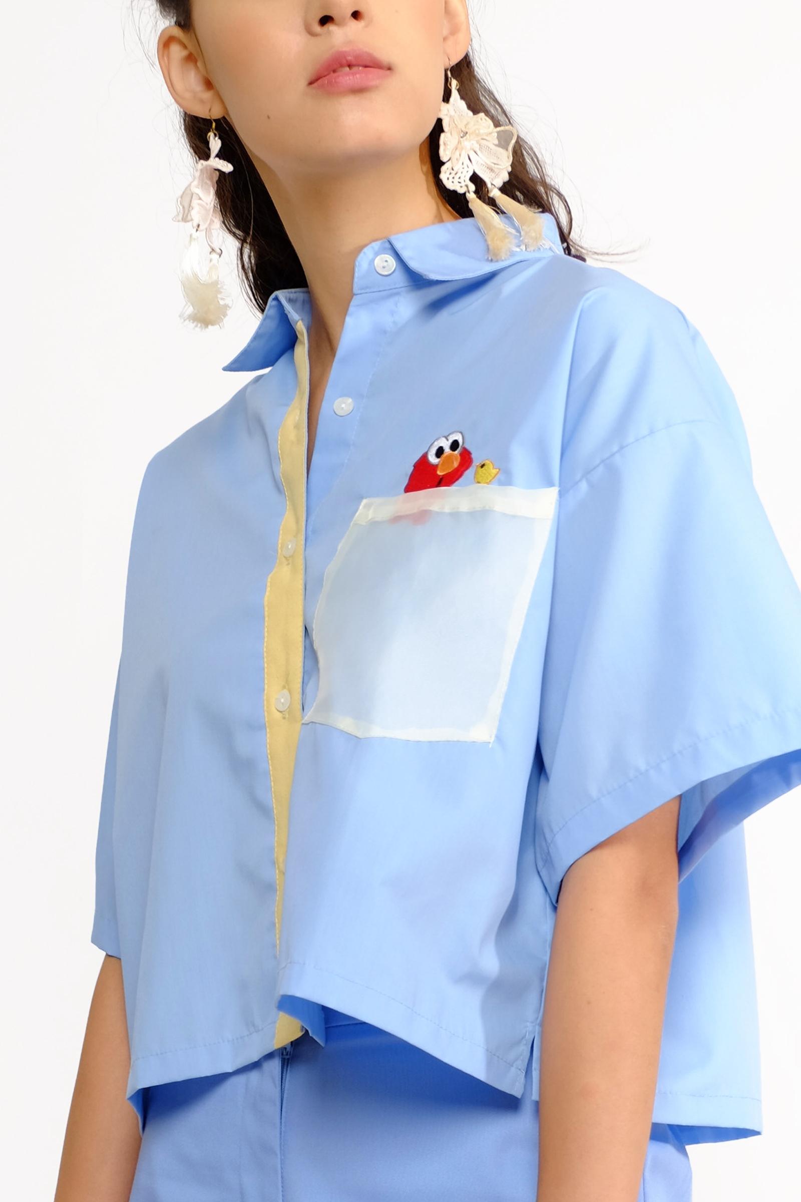 Picture of Peekaboo Shirt Softblue