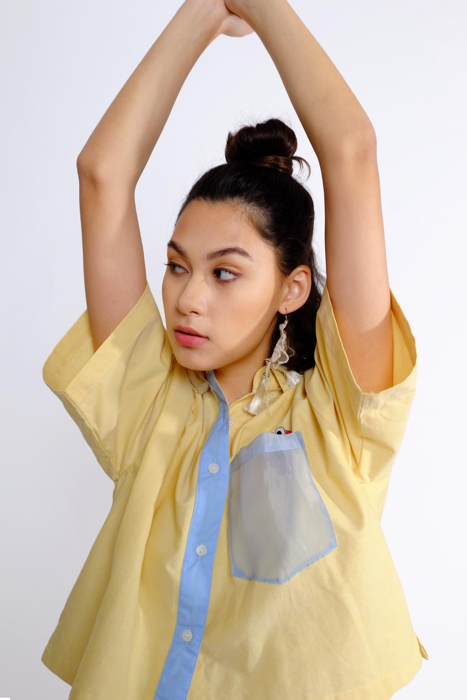 Picture of Peekaboo Shirt Soft Yellow