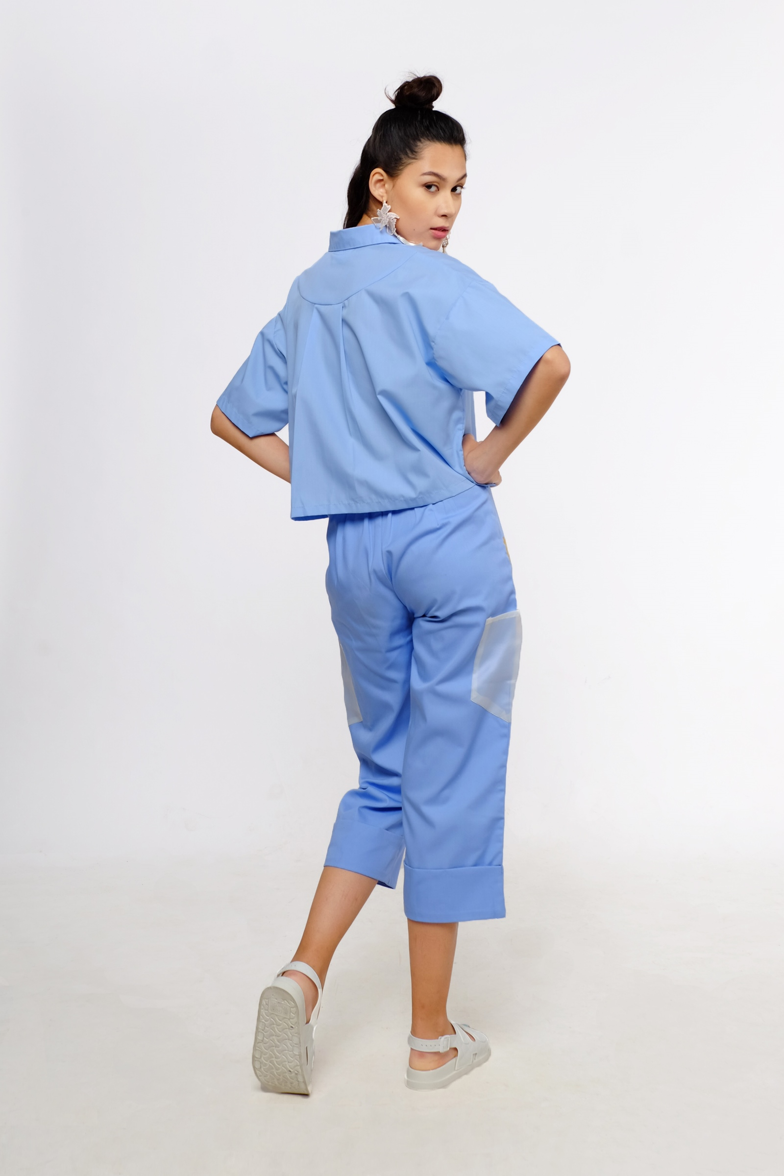Picture of Suki Cullote Pants Blue