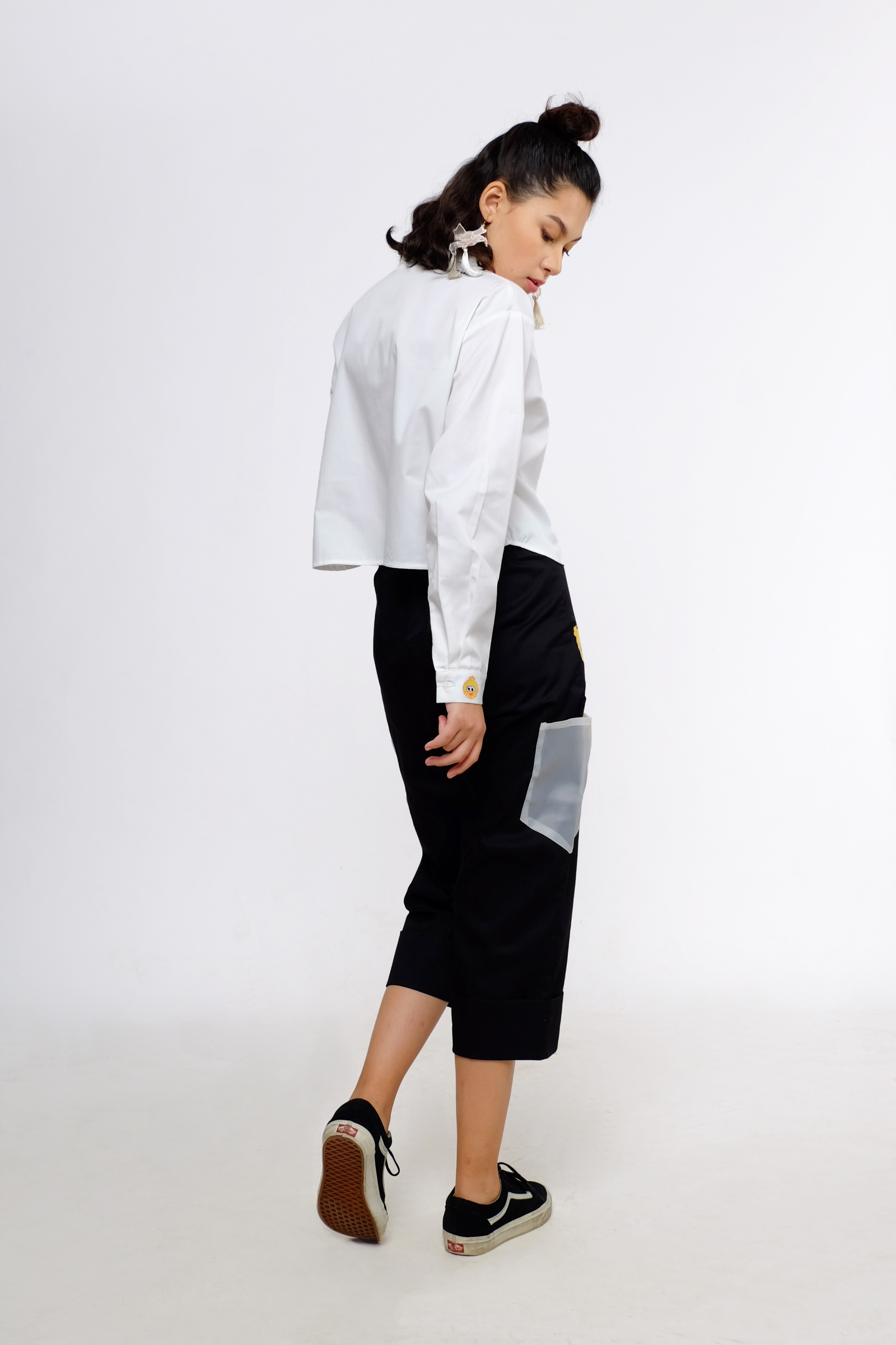 Picture of Suki Cullote Pants Black