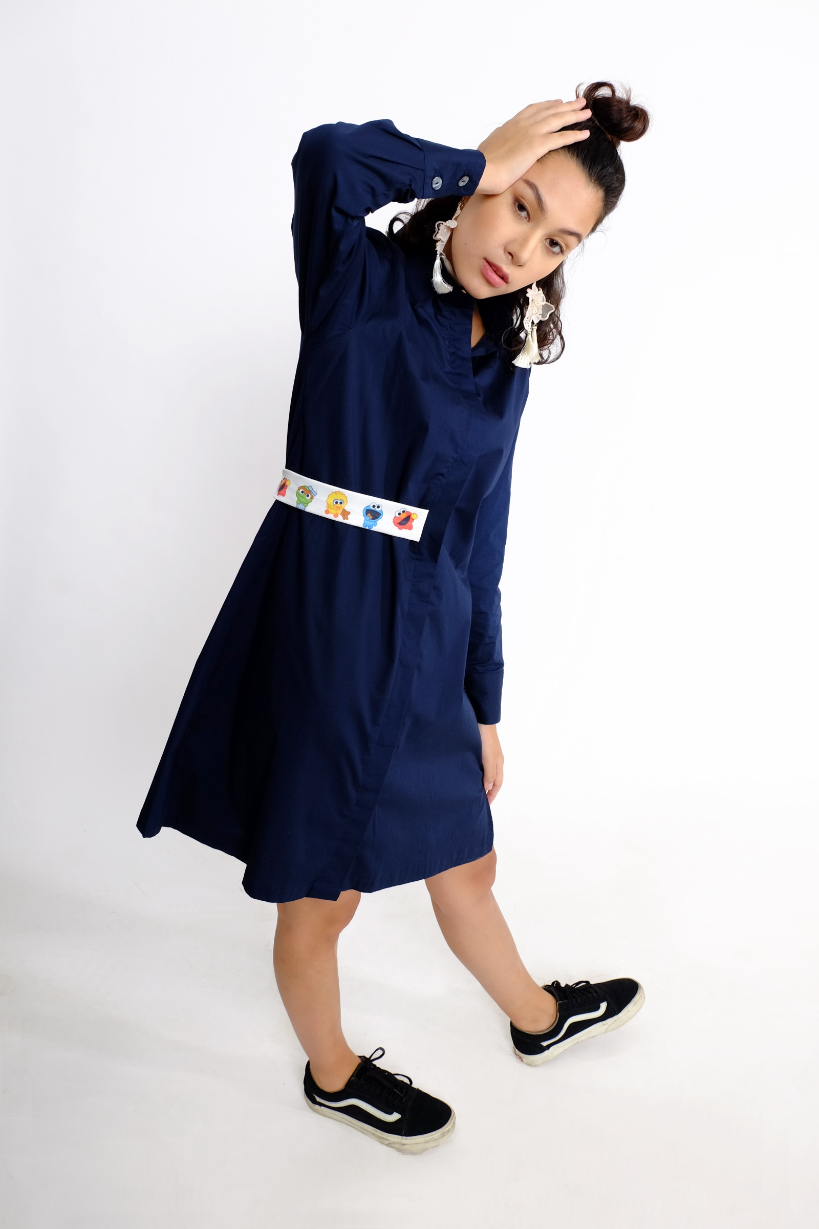Picture of Lawrence Dress Navy
