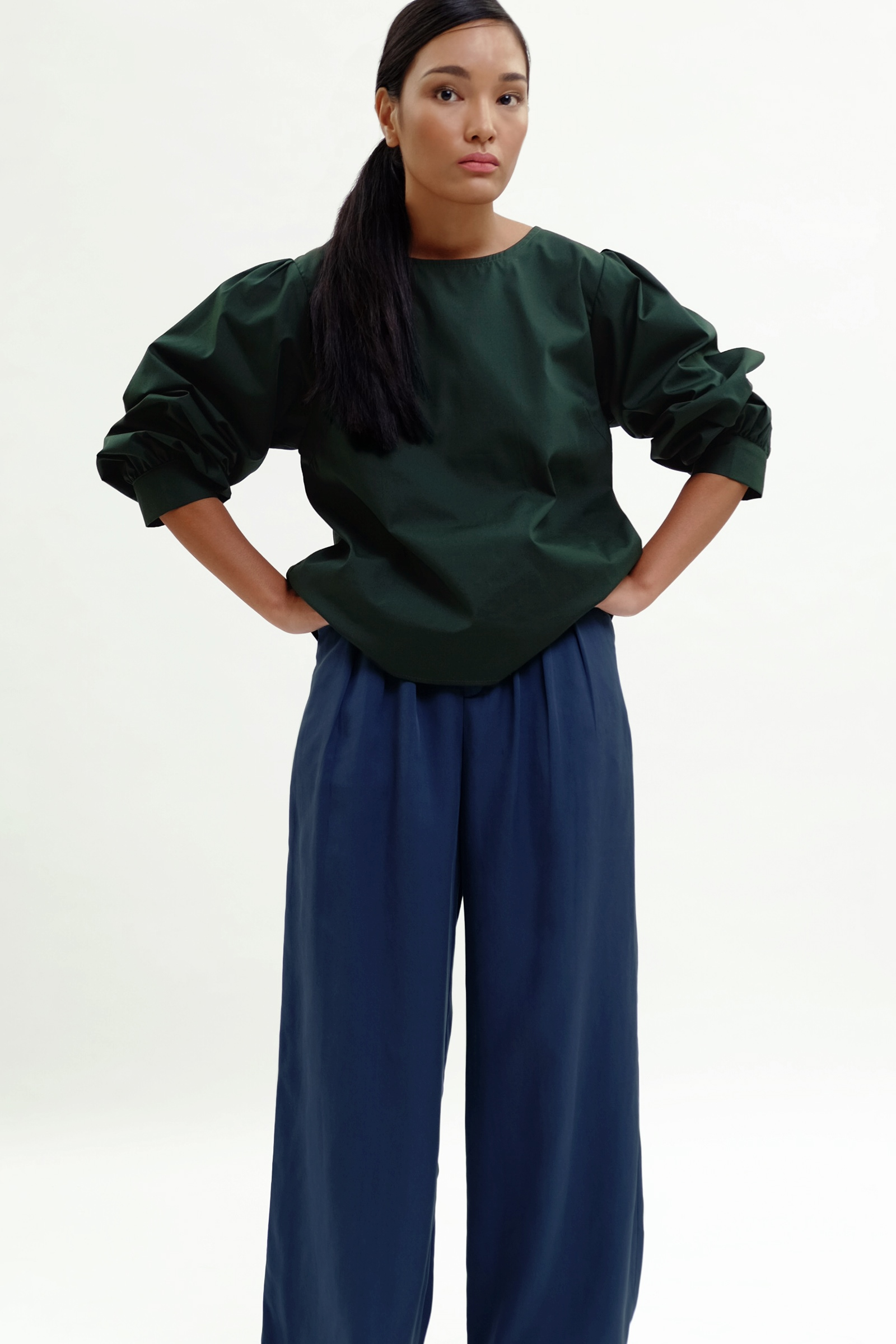 Picture of Pauline Blouse Fir Green