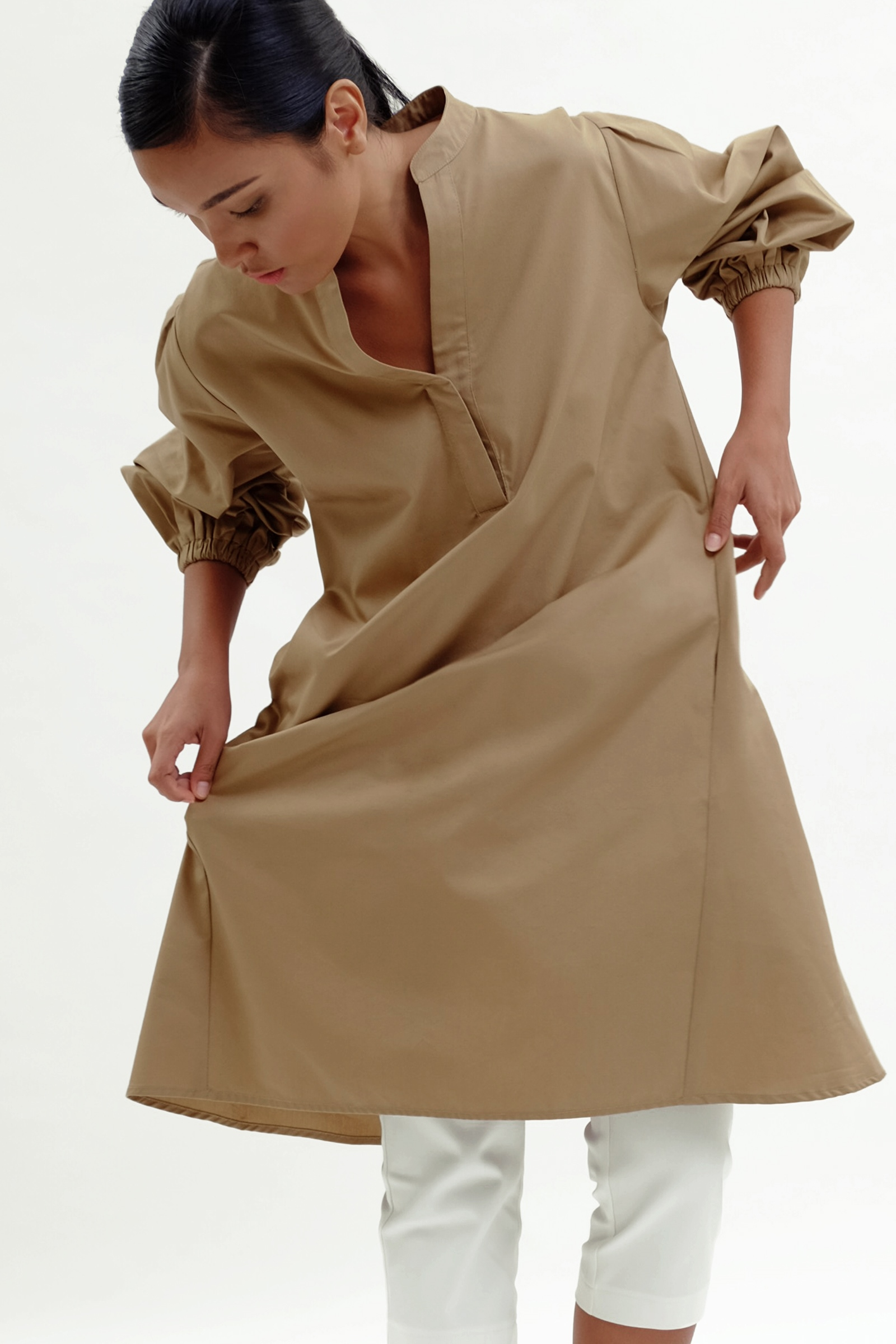Picture of Gemimo Dress Latte