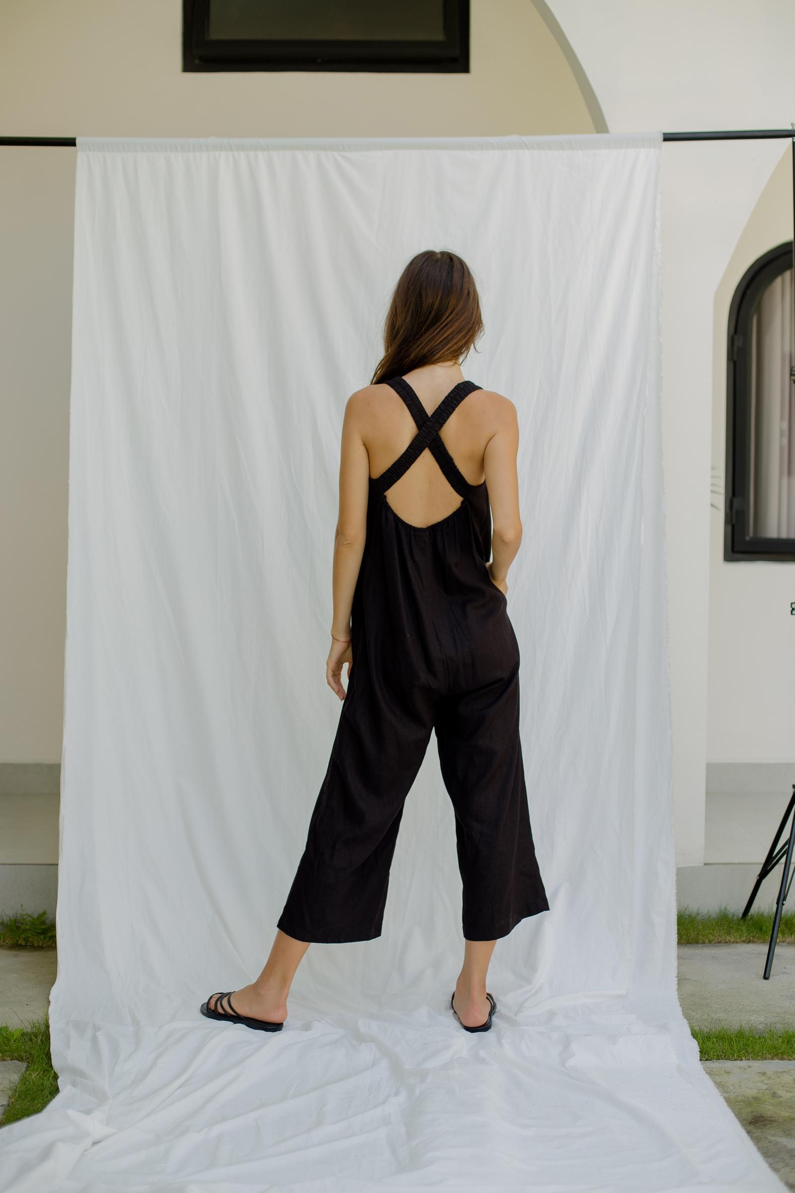 Picture of Sadira Jumpsuit Black