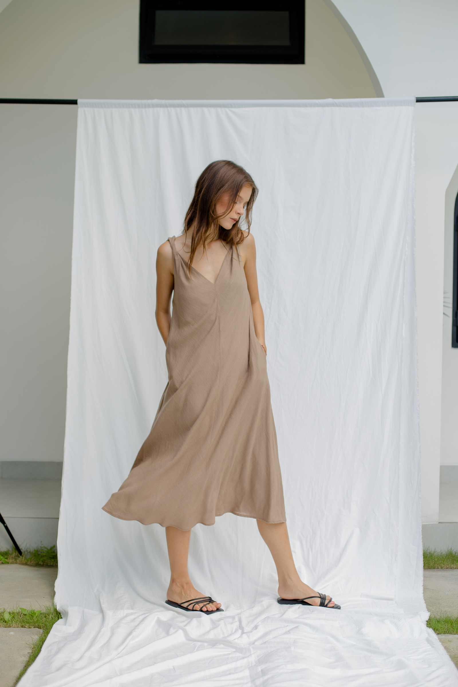 Picture of Kalene Dress Walnut