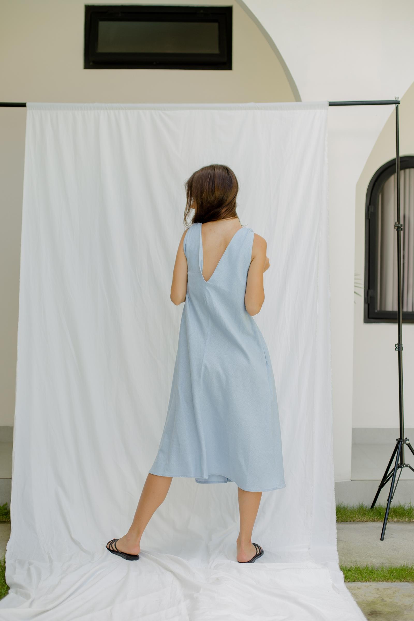 Picture of Kalene Dress Blue Powder