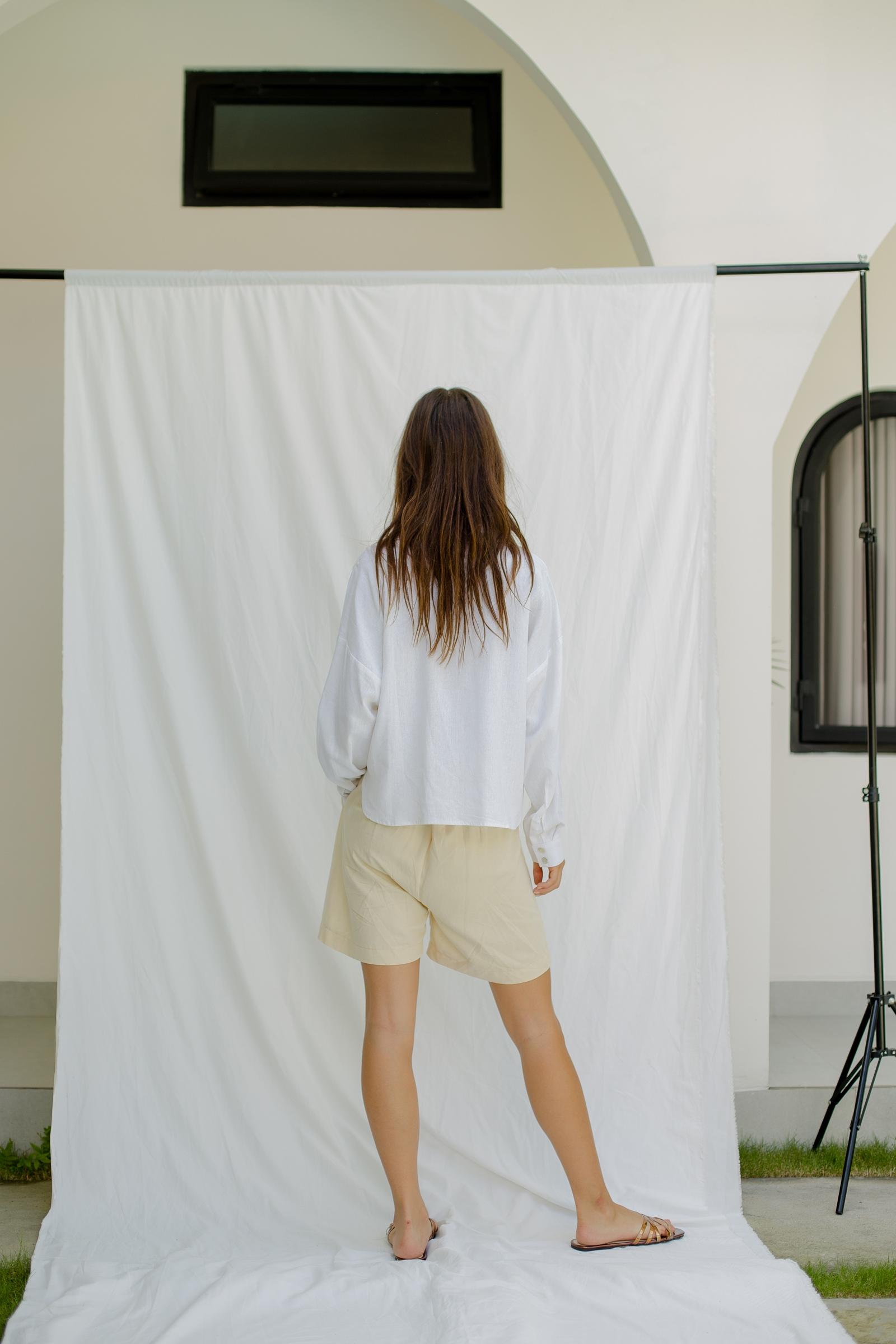 Picture of Brielle Shirt Almond Milk