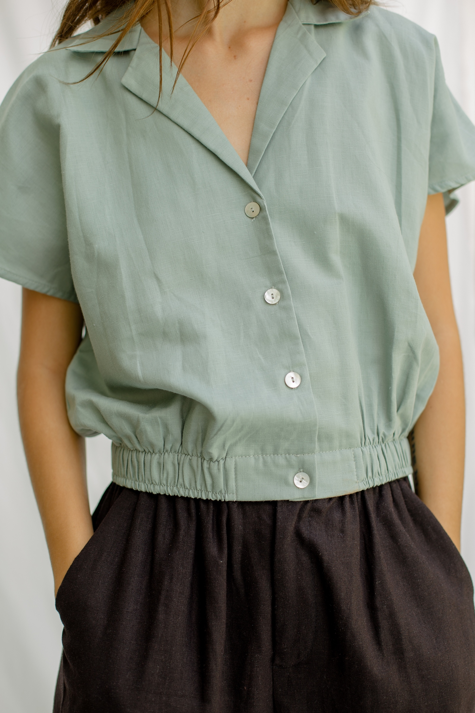 Picture of Siona Shirt SageGreen