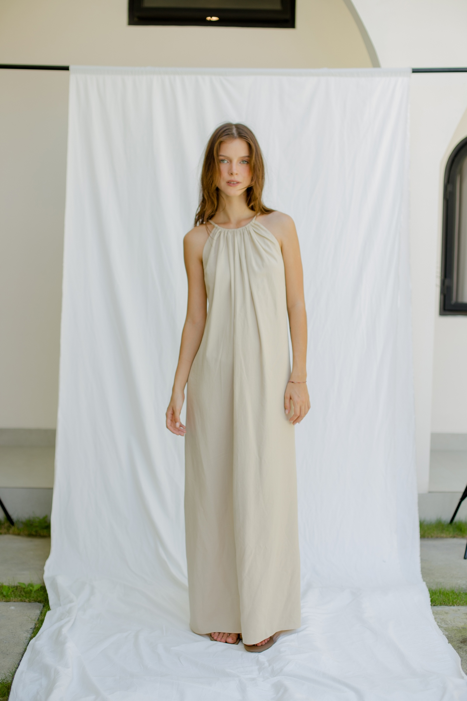 Picture of Calithea Maxi Dress Sand