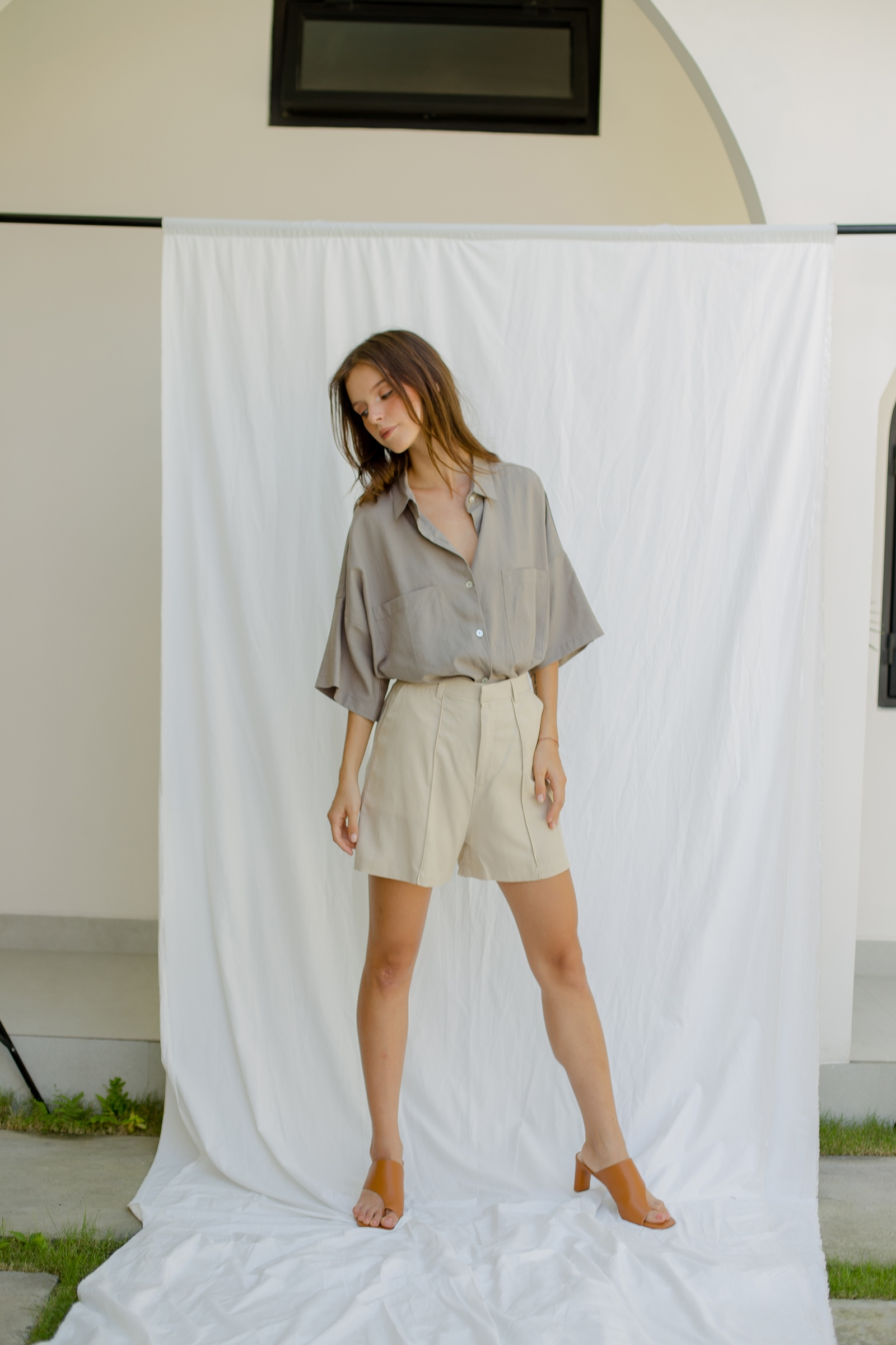 Picture of Harte Short Pants Sand