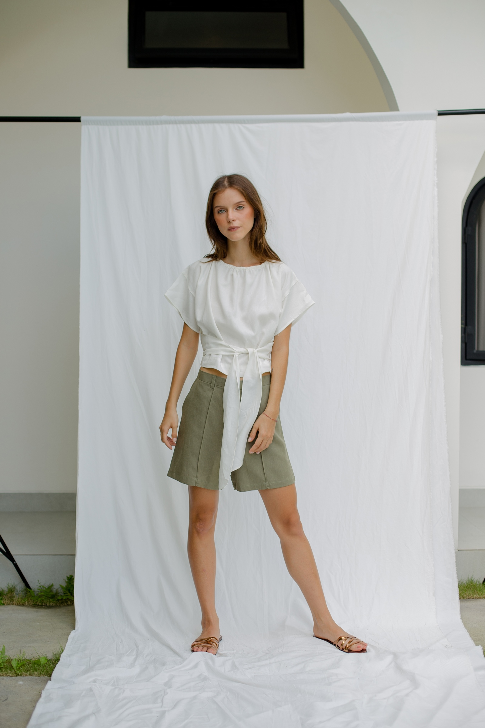 Picture of Harte Short Pants Olive